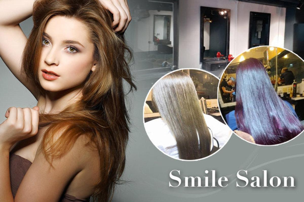 Smile Salon Japan Vantachi Ionized Hair Straightening Perming