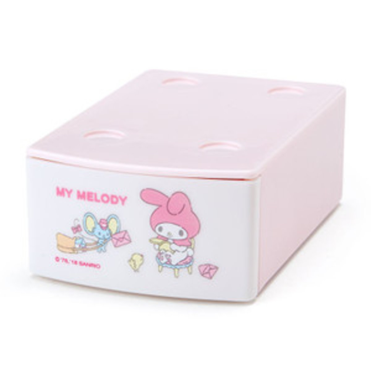 Sario My Melody Mini Stacking Case With Memo 20 Sheets Buy 2 Get Chicco Baby Nail Scissors Pink Massage Oil Hktvmall Online Shopping