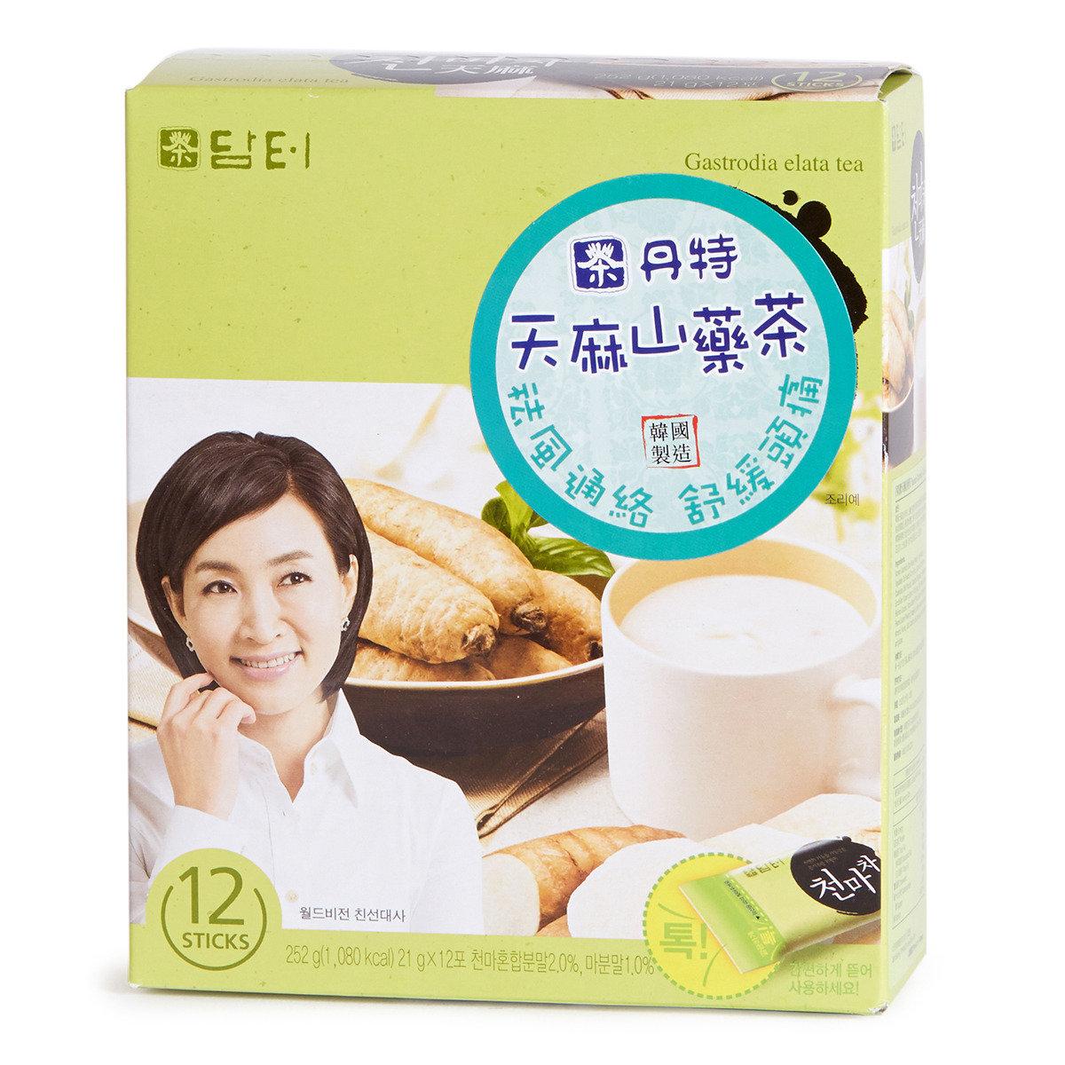 天麻山藥茶