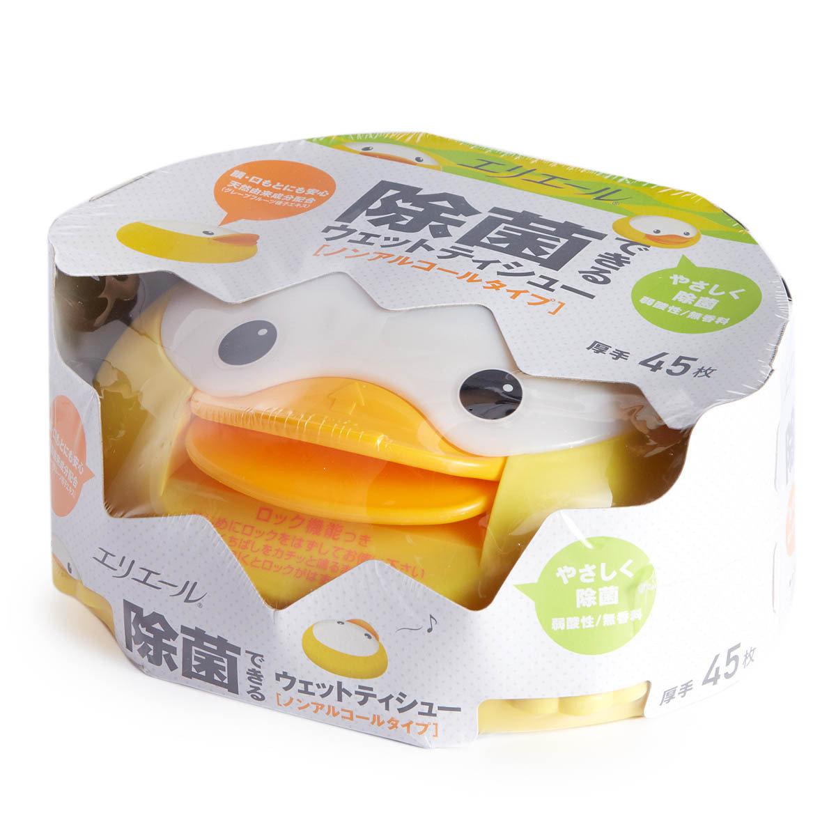 幼兒用除菌濕紙巾 (盒裝)