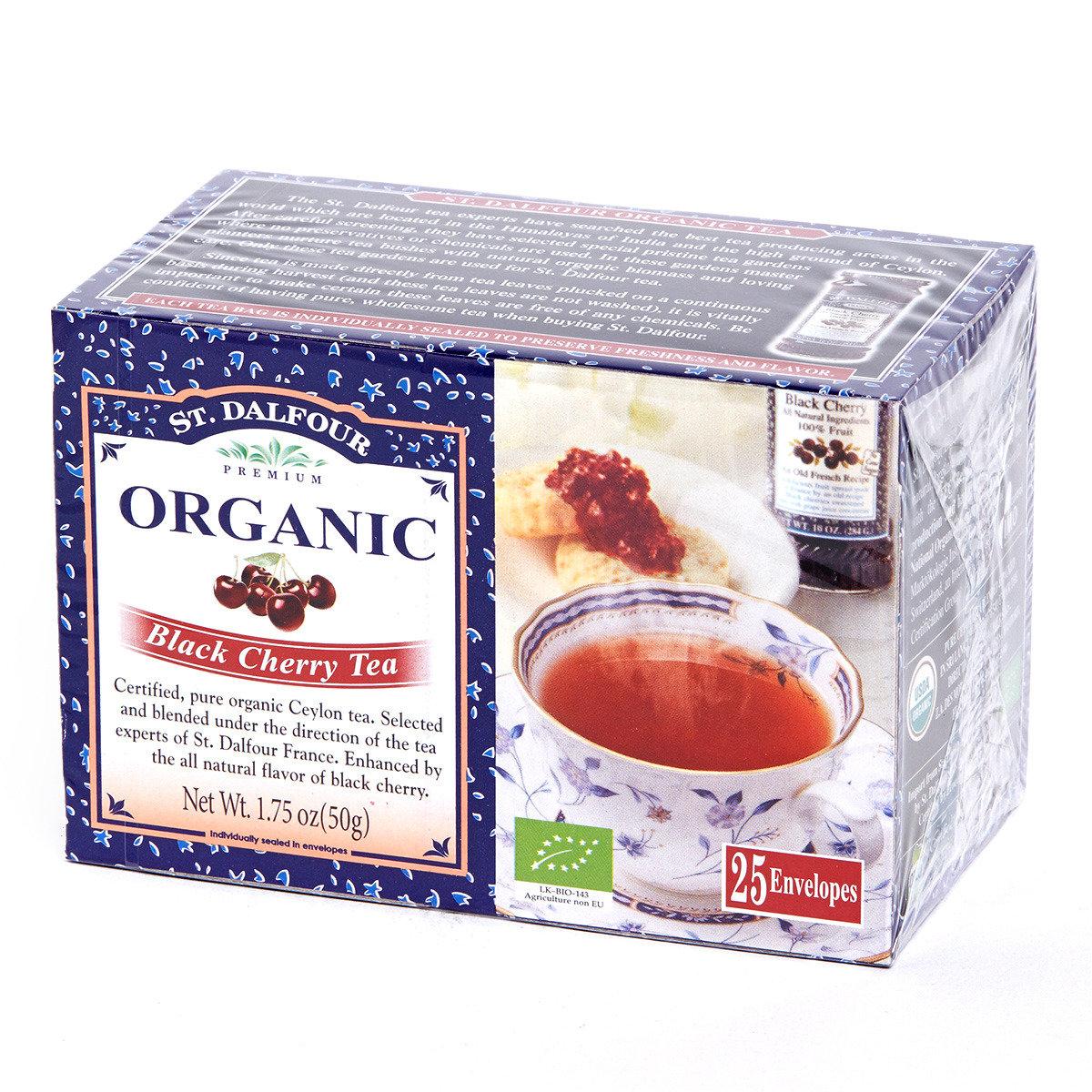 有機紅茶系列 - 黑櫻桃紅茶