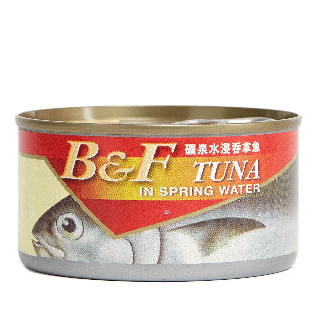 礦泉水浸吞拿魚
