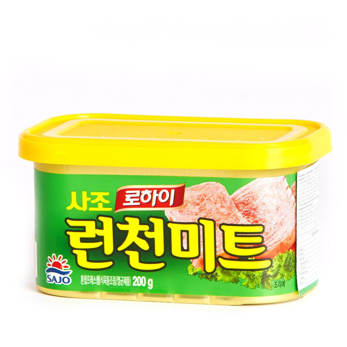 午餐肉 (綠罐) - 豬肉加雞肉