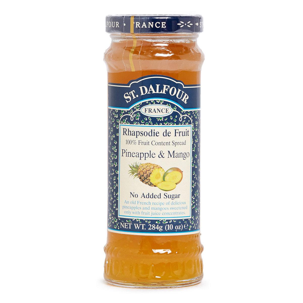天然鳳梨芒果果醬
