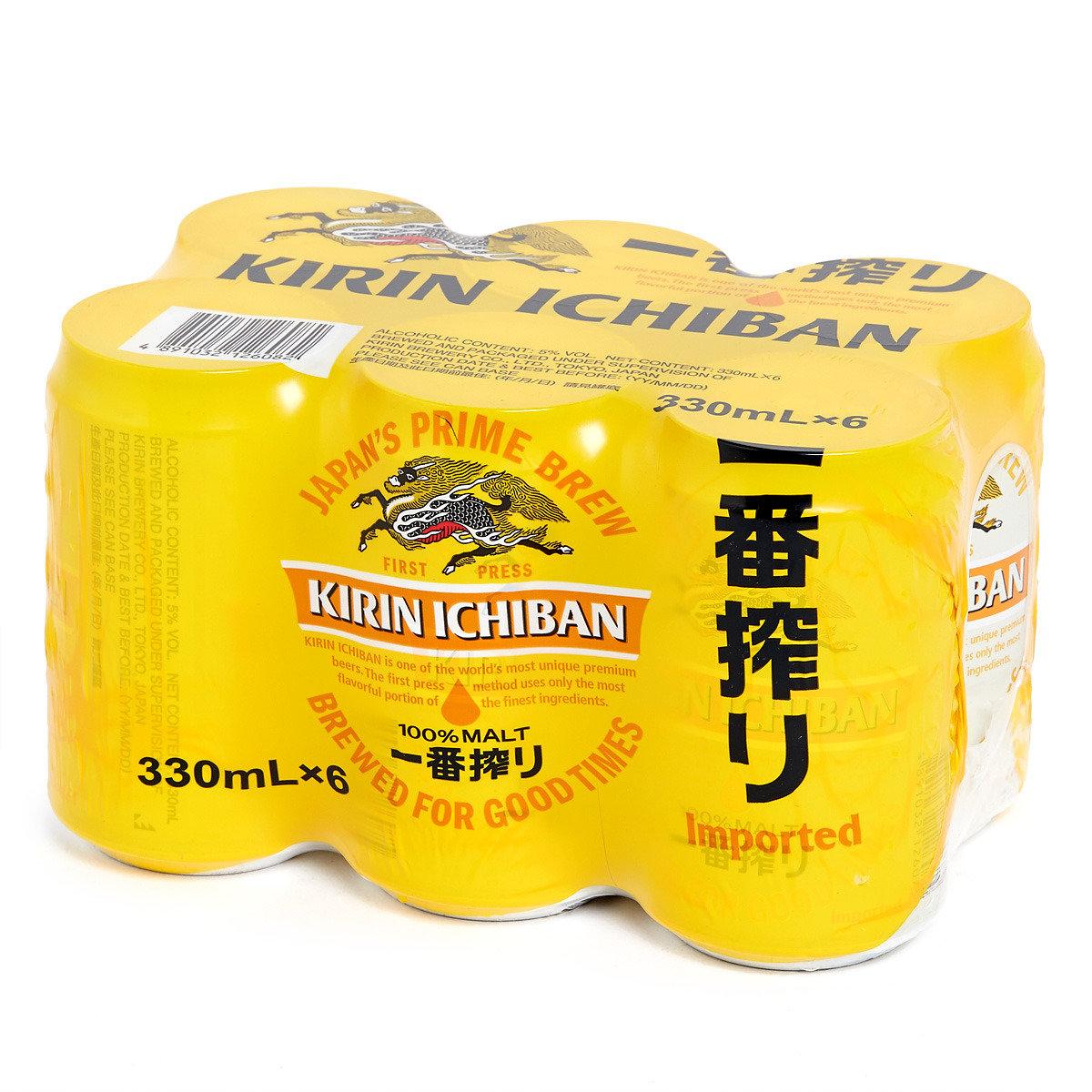 罐裝一番搾啤酒