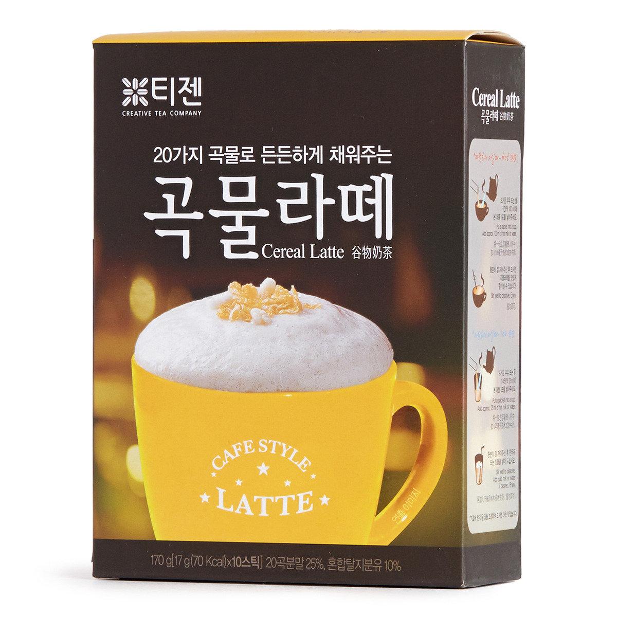 穀物奶茶 (沖劑飲品)