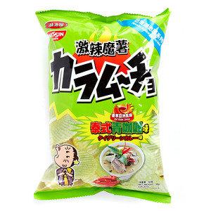 [贈品] 湖池屋激辣魔薯泰式青咖喱味薯片