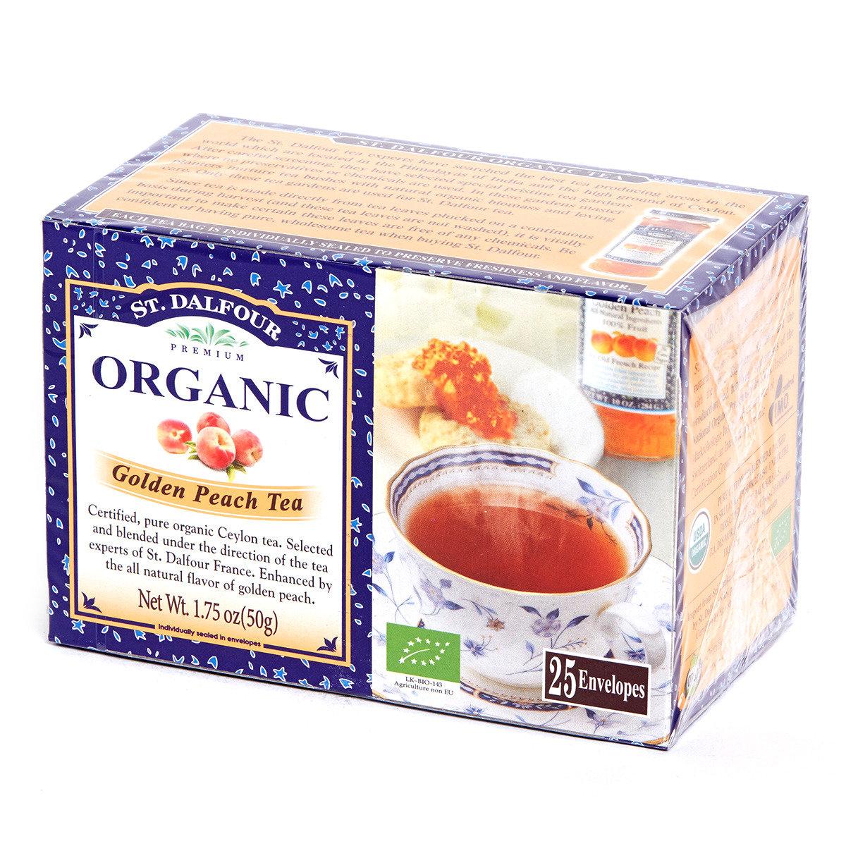 有機紅茶系列 - 水蜜桃紅茶