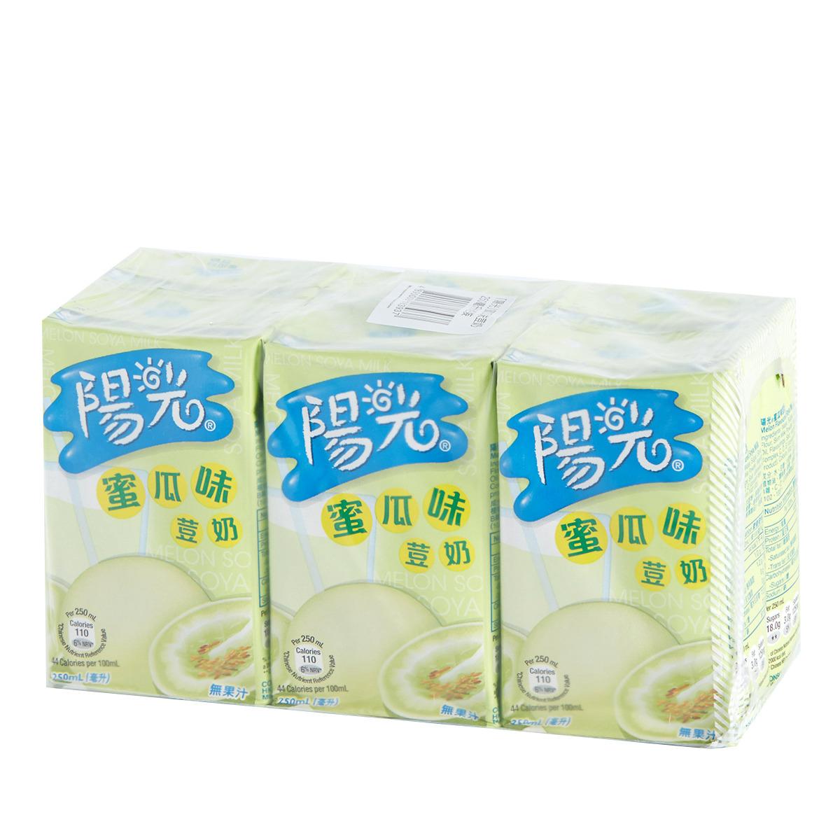 蜜瓜味荳奶紙包裝