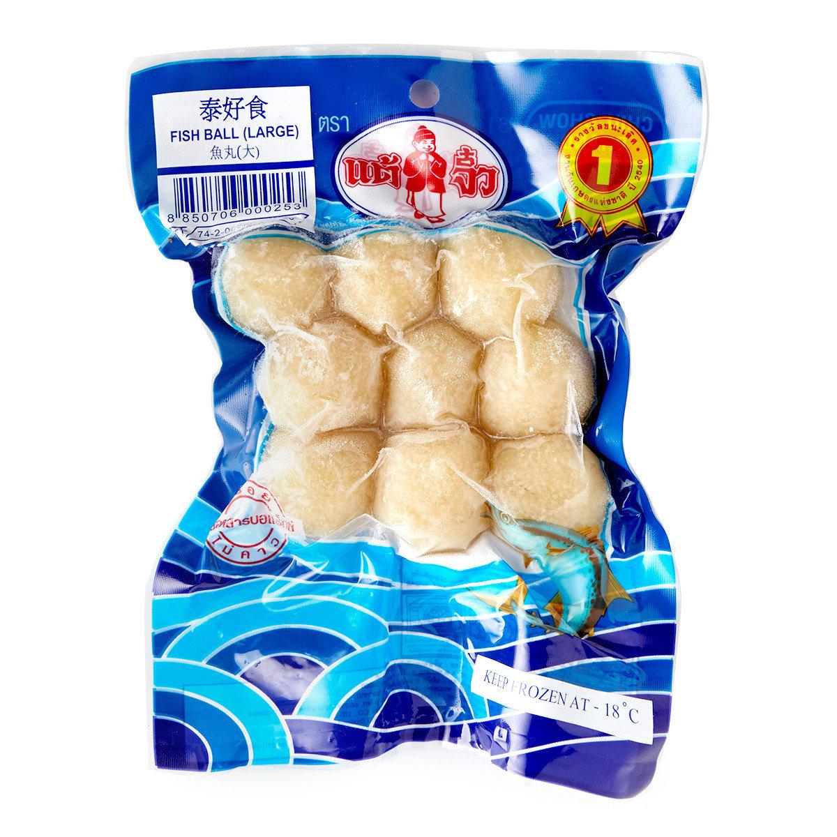 泰式大眼雞魚丸 (急凍)
