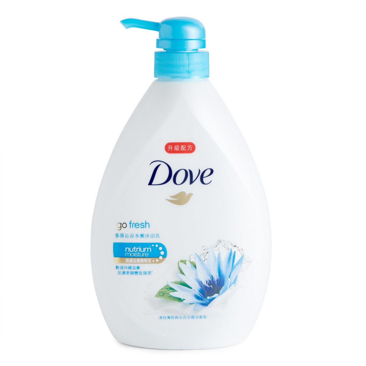 沁涼水嫩沐浴乳