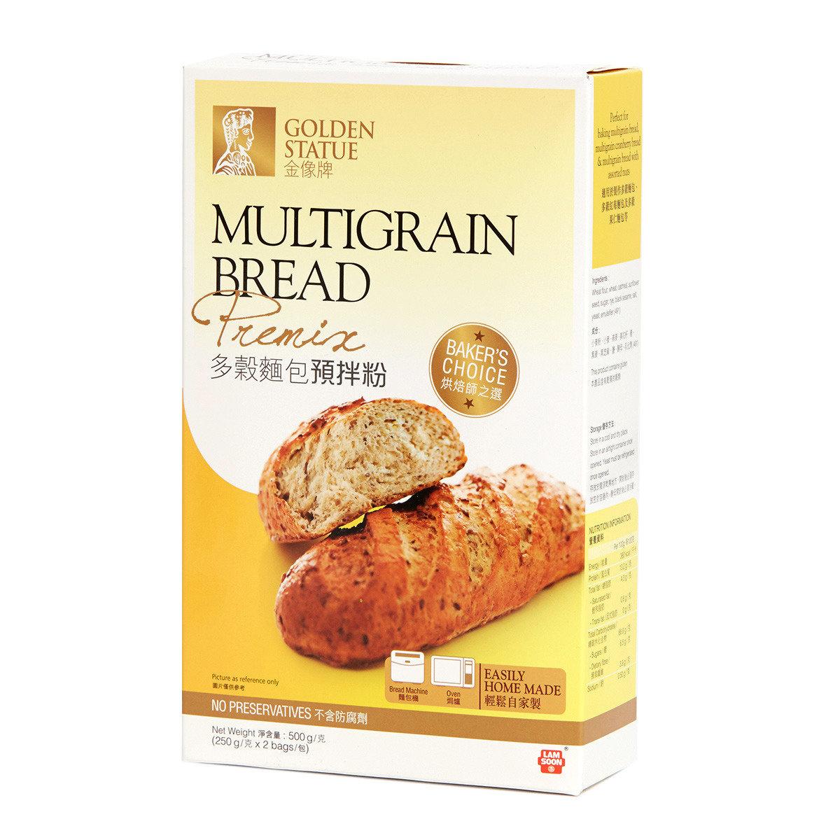 多穀麵包預拌粉