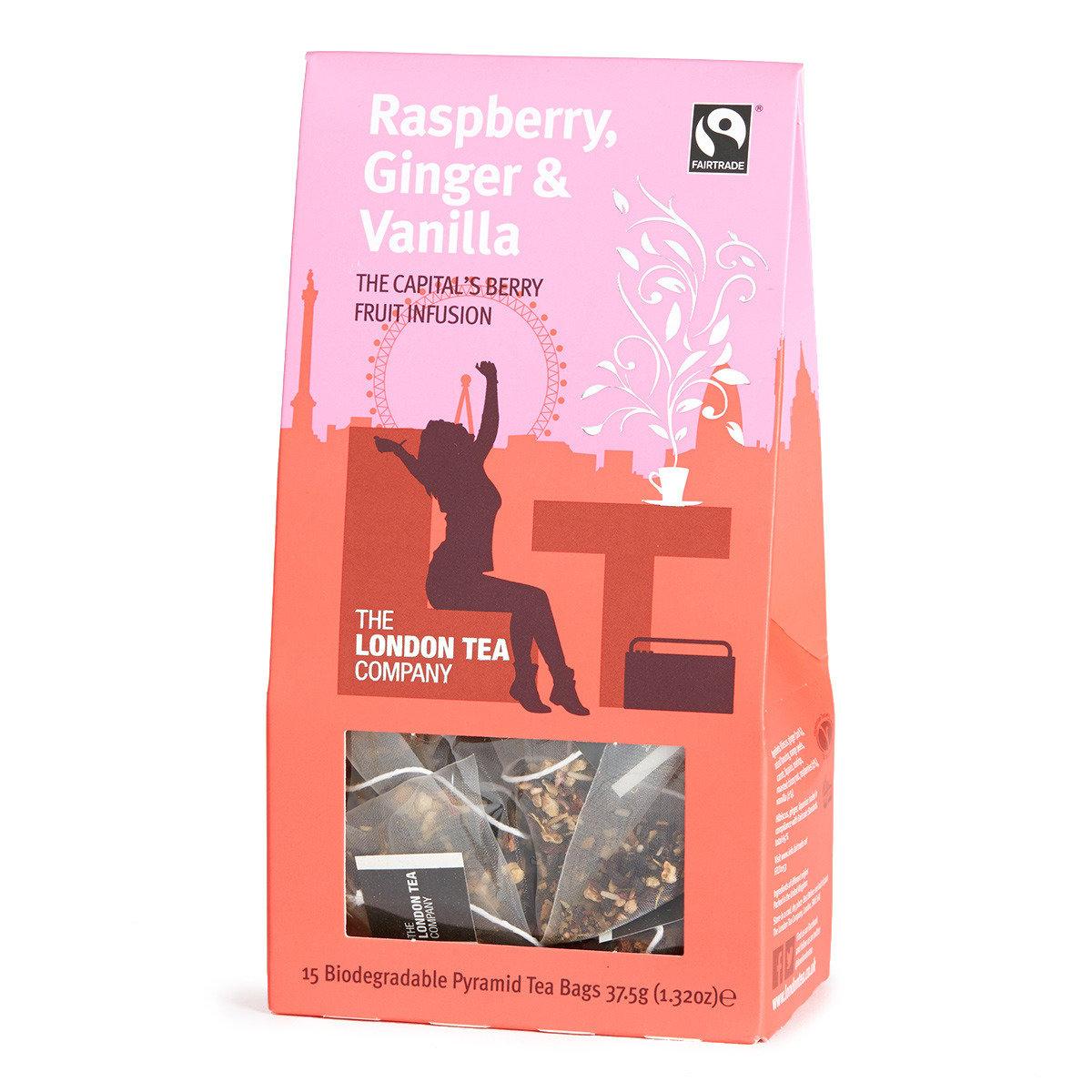 香草薑味山莓茶