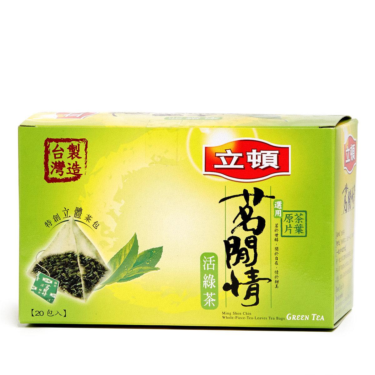 茗閒情原片茶葉包 - 綠茶