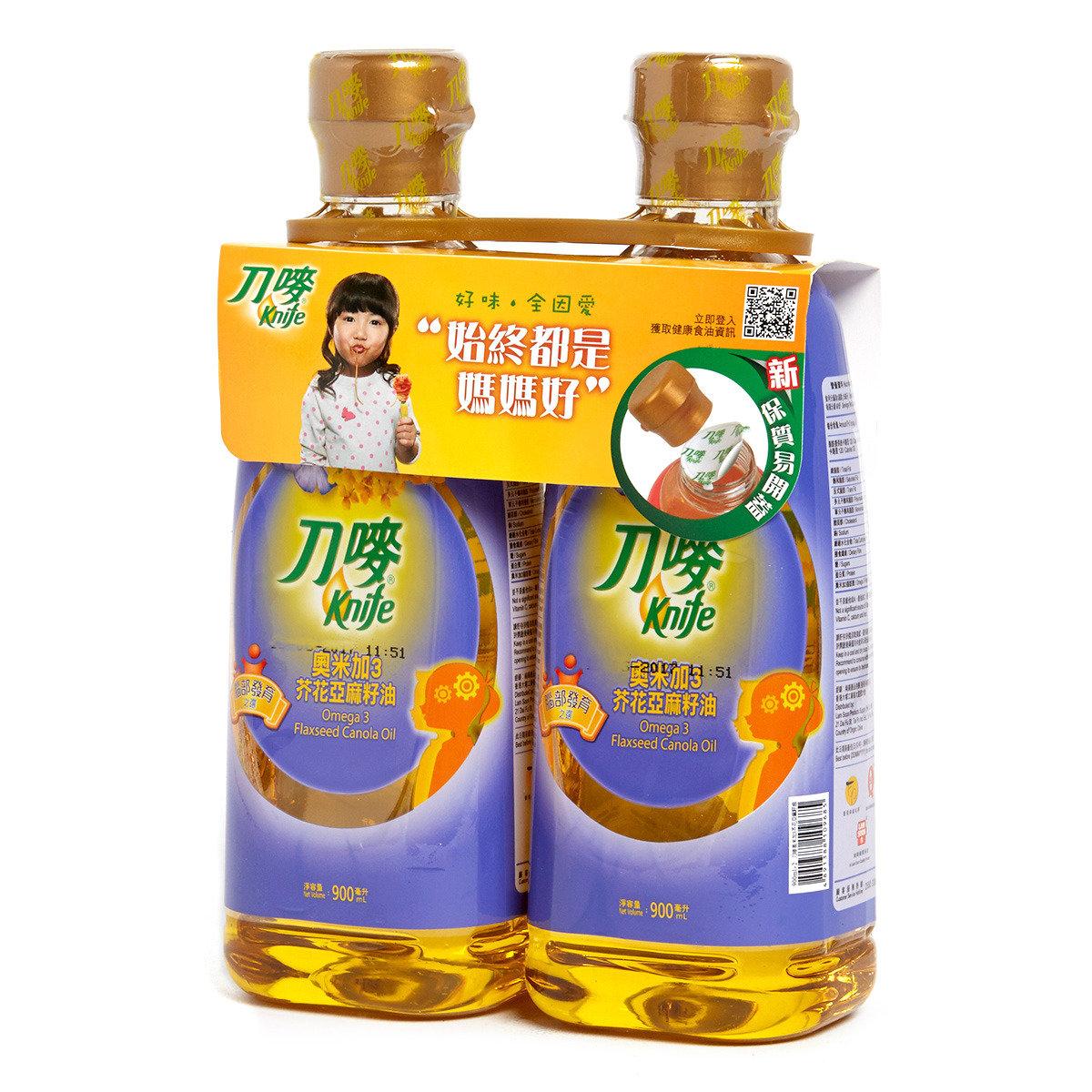 奧米加3芥花亞麻籽油