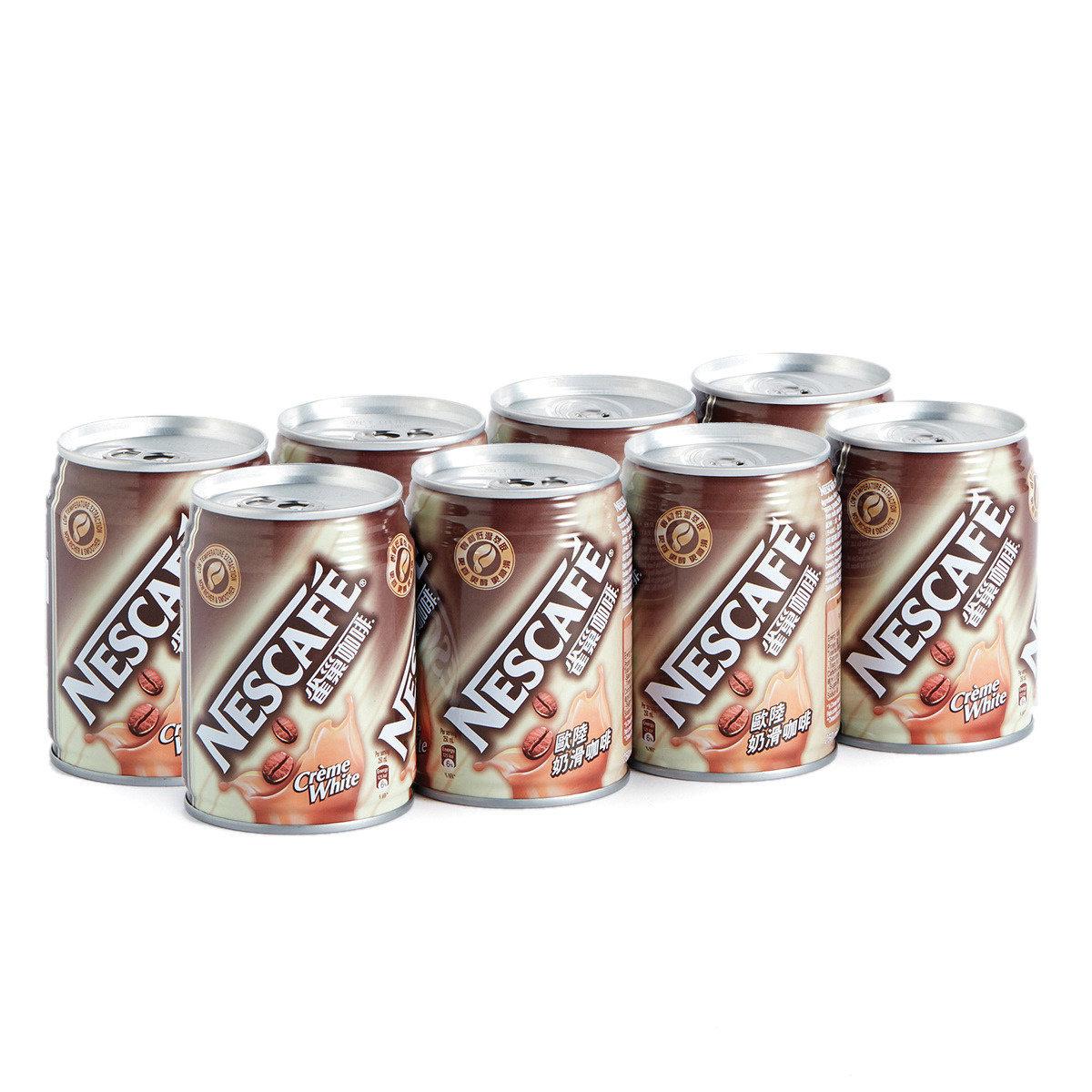 歐陸奶滑咖啡罐裝
