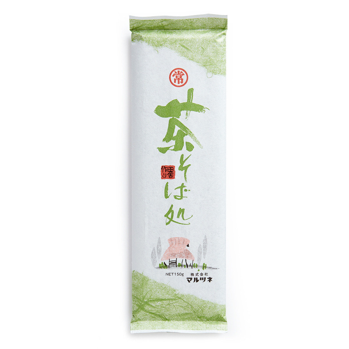 日本抹茶入蒿麥麵