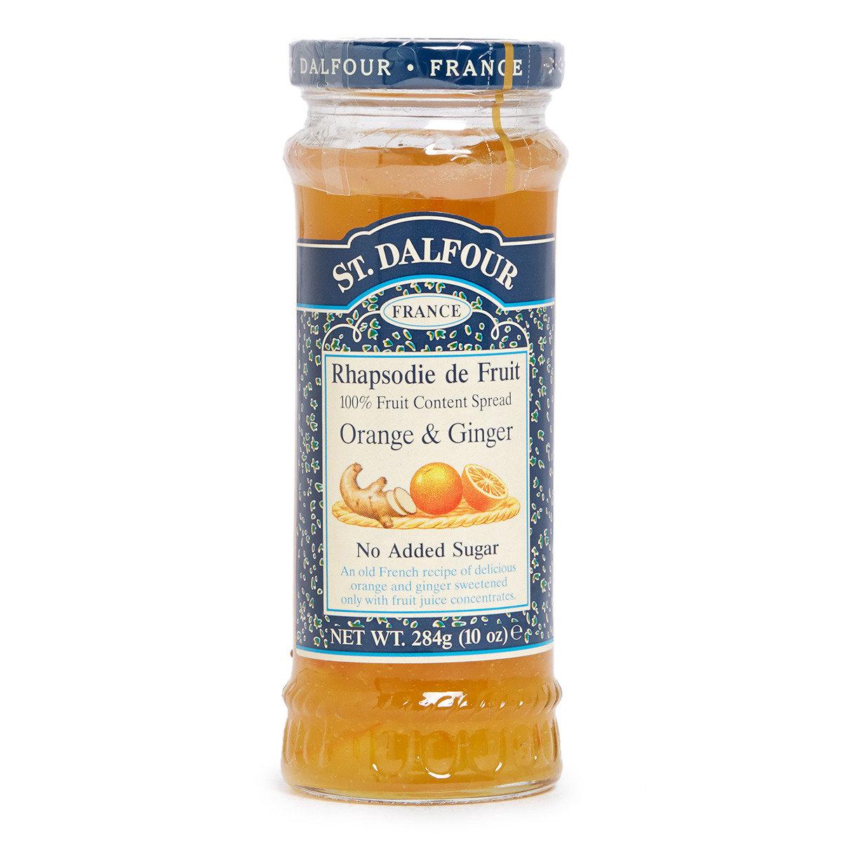 天然香橙生薑果醬