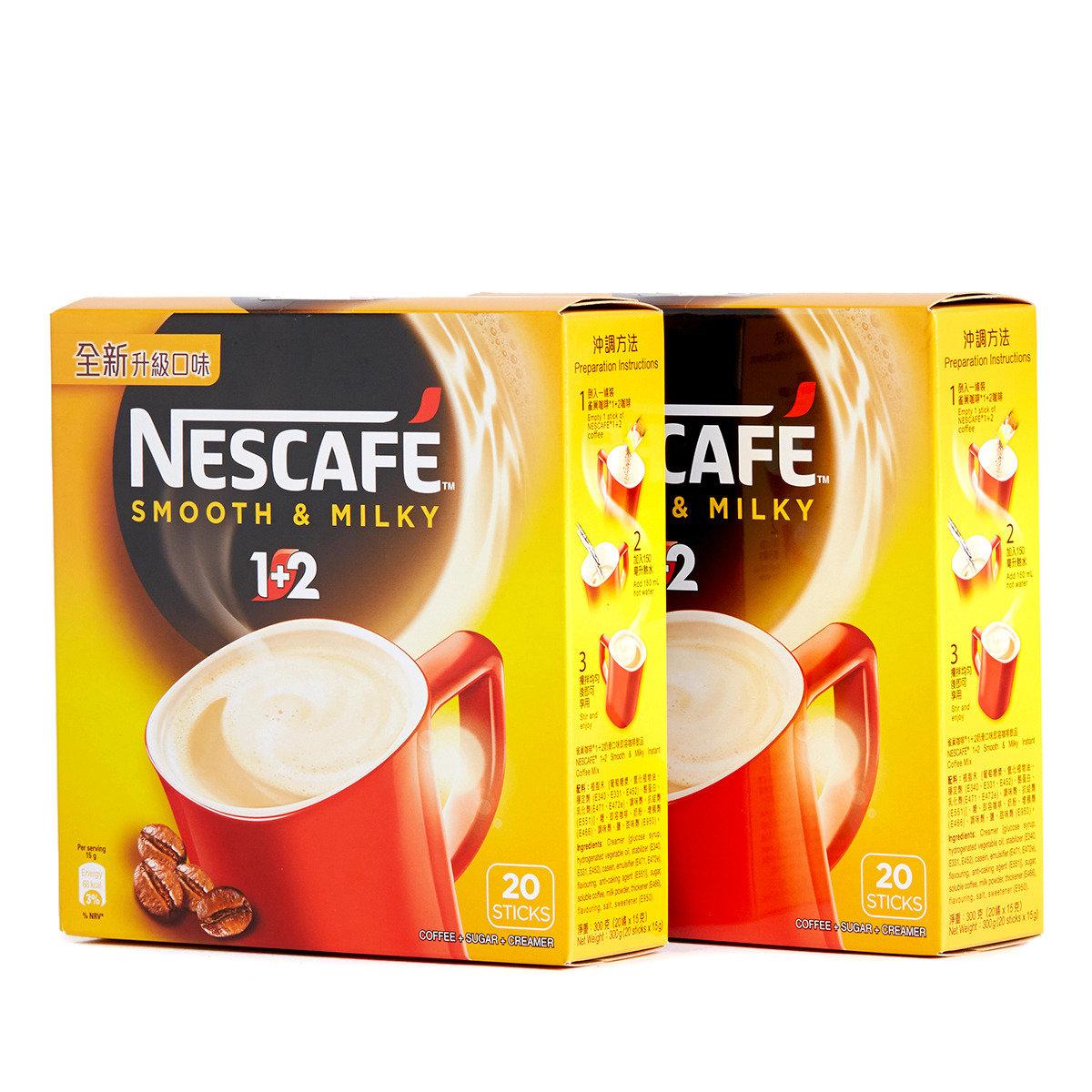 1+2 奶滑口味即溶咖啡飲品