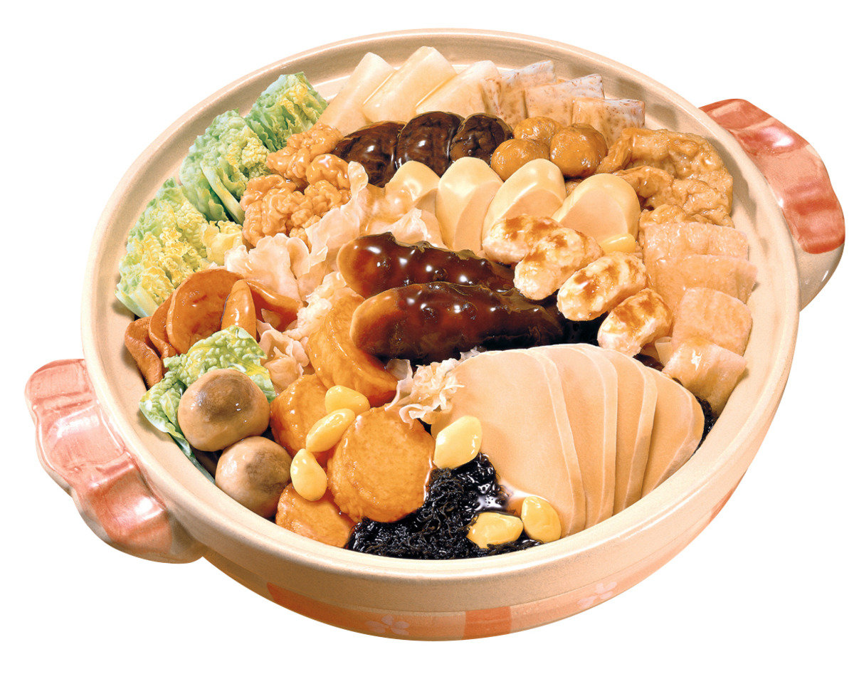 如意上素盆菜 (6-8位) (禮券)