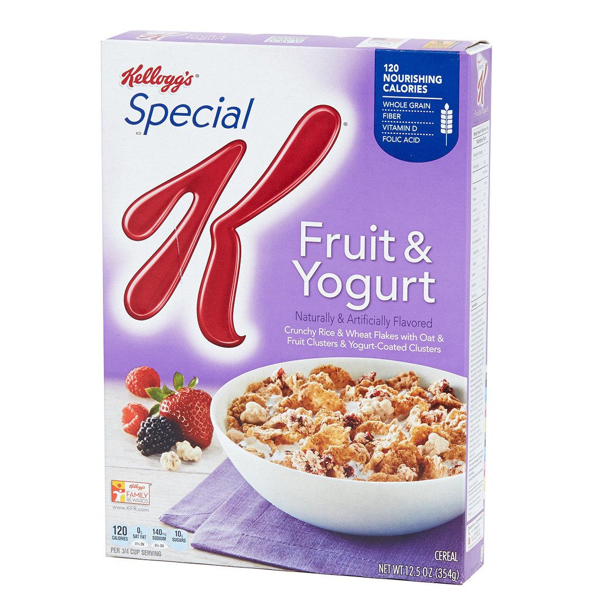 Special K低熱量麥米片 (鮮果乳酪味)