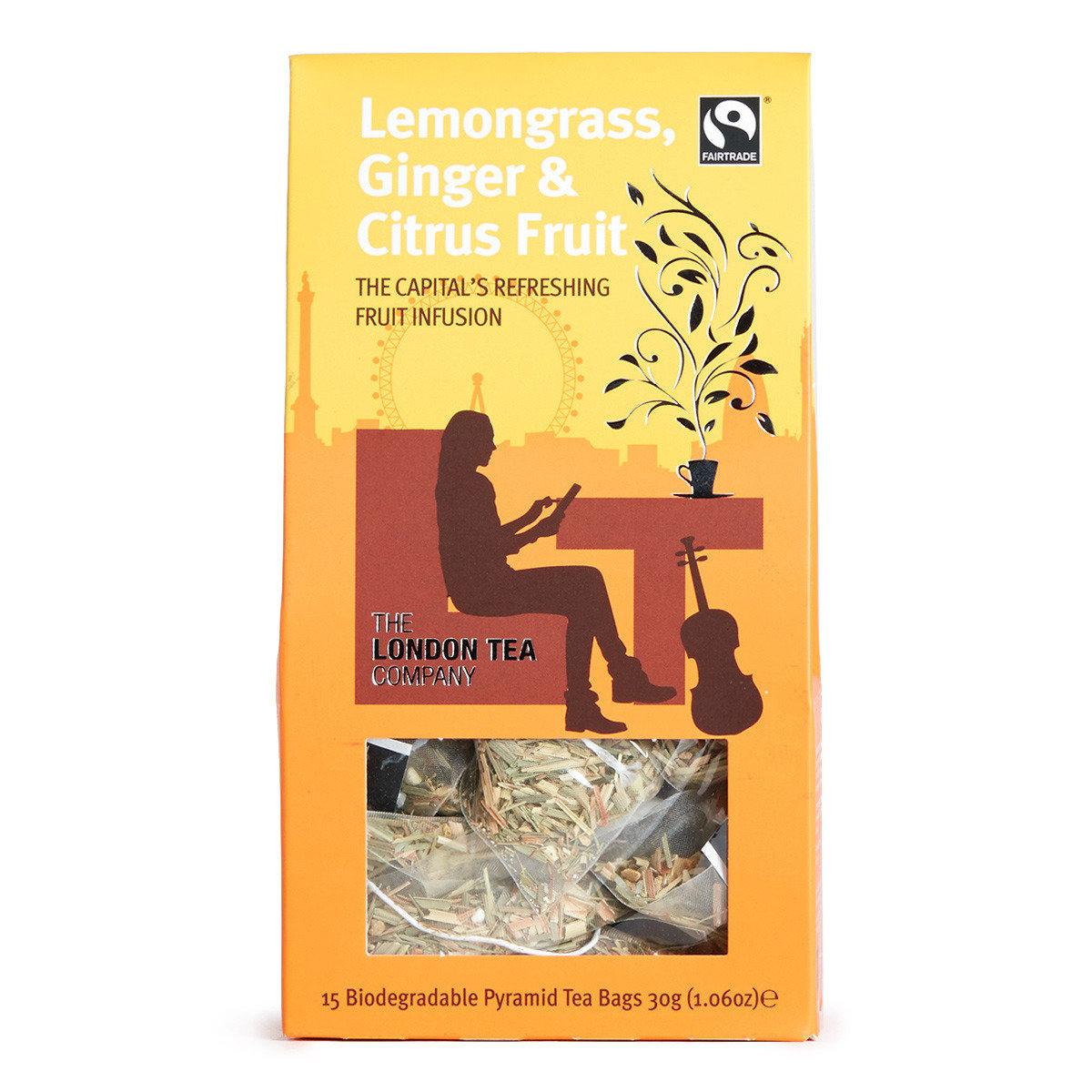 香茅薑味柑橘茶