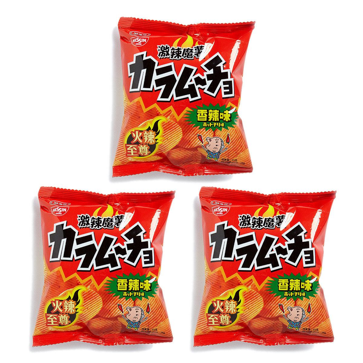 湖池屋激辣魔薯香辣味薯片 (小)
