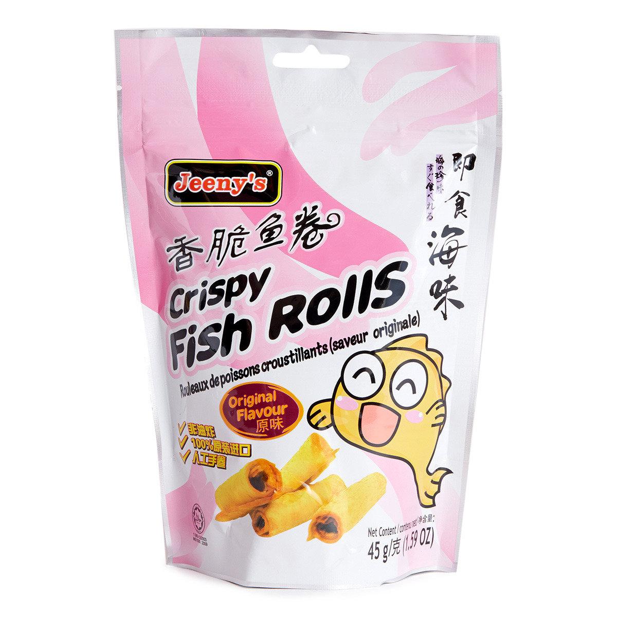 香脆魚卷 (原味) (賞味期限:07.05.2016)