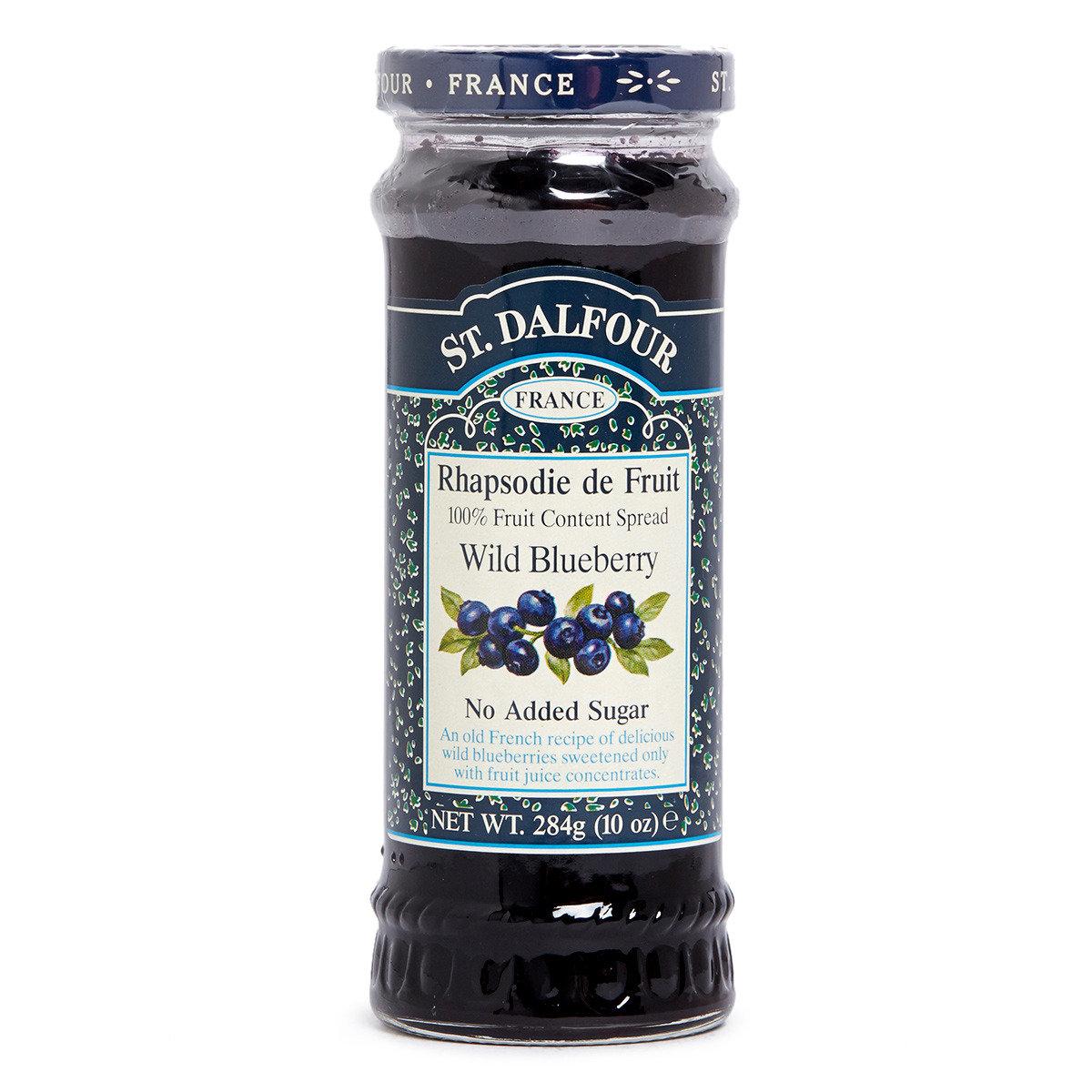 天然野生藍莓果醬