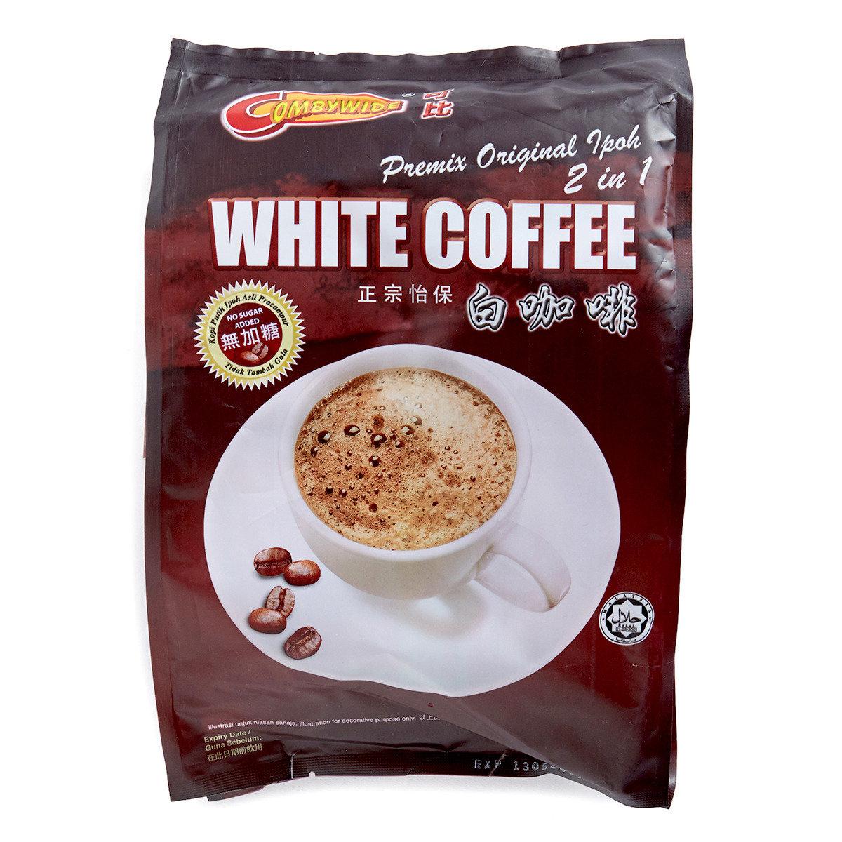 無加糖白咖啡
