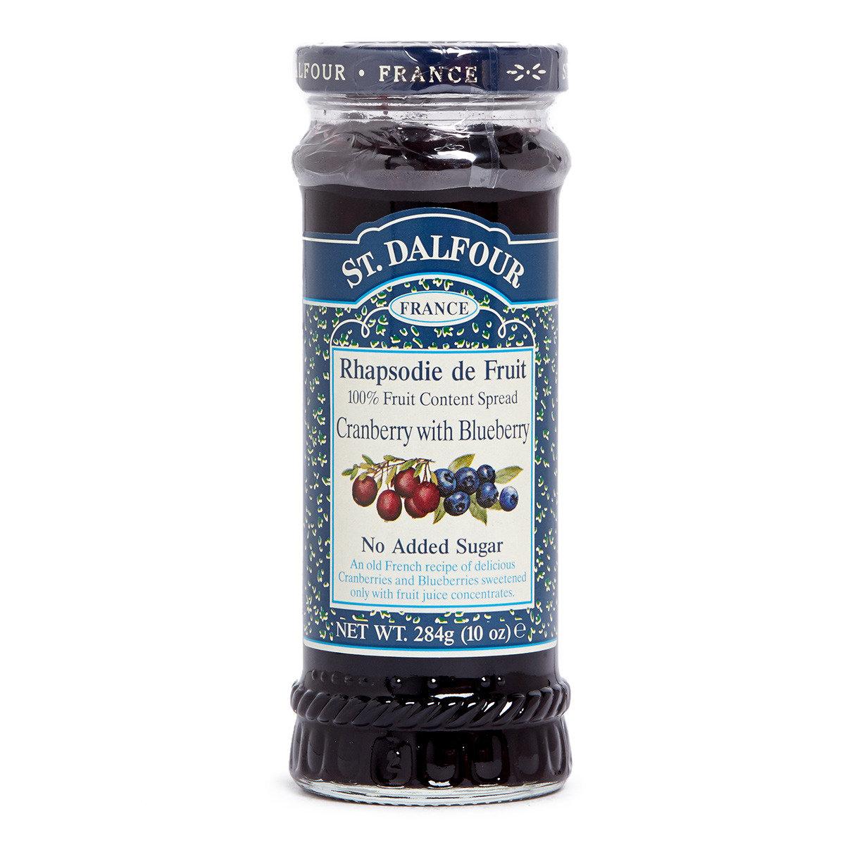 天然紅莓藍莓果醬