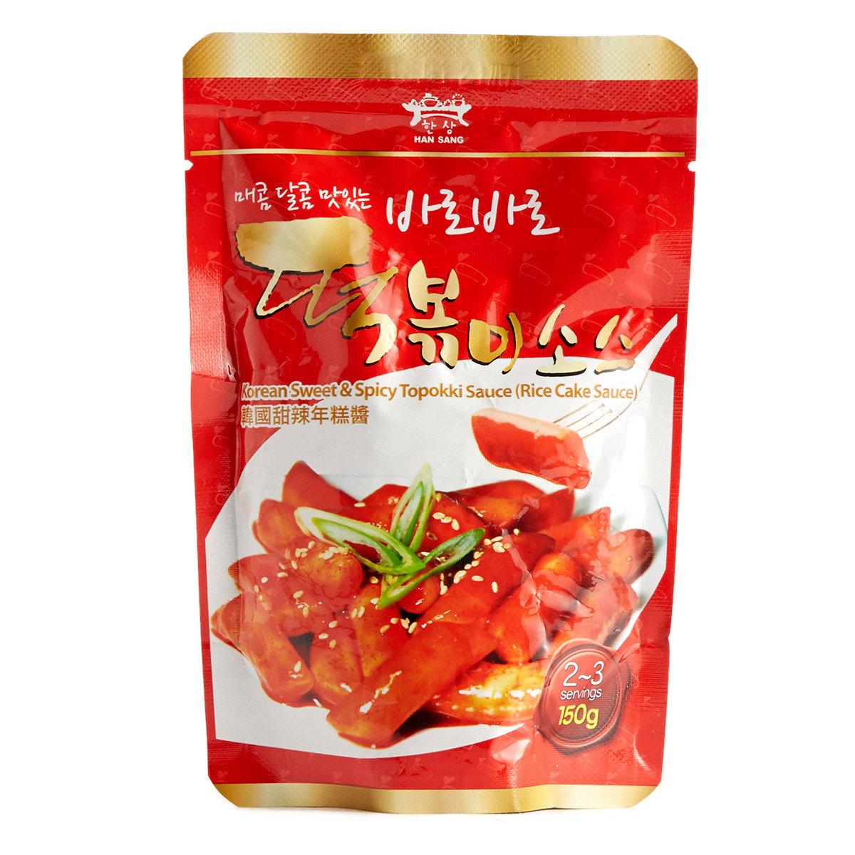 韓國甜辣年糕醬