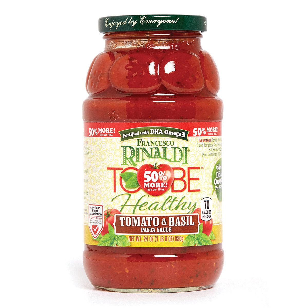 健營番茄及羅勒意粉醬