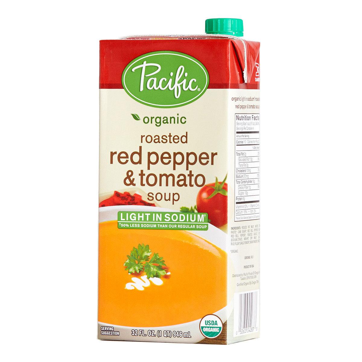 有機低鹽紅椒蕃茄湯