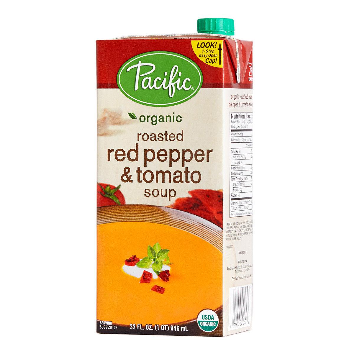 有機紅椒蕃茄湯