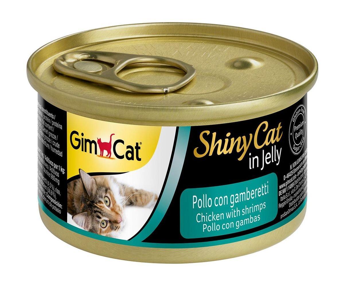 天然雞肉蝦肉貓罐頭