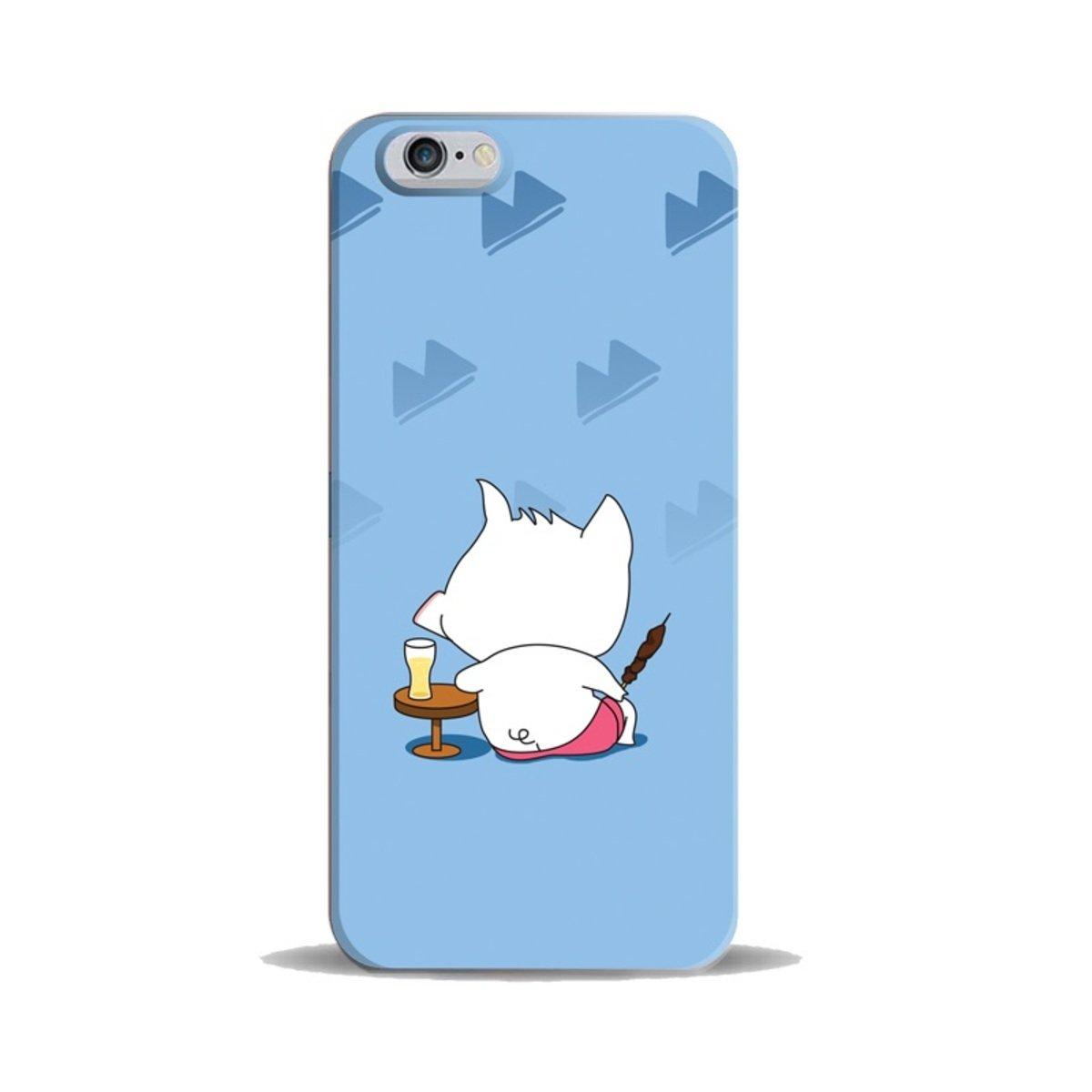 "iPhase - iPhone 6 (4.7"") 手機膠殼電話保護套 4.7寸 (White Piggy) (另有適合iPhone 6 Plus 5.5寸型號)"