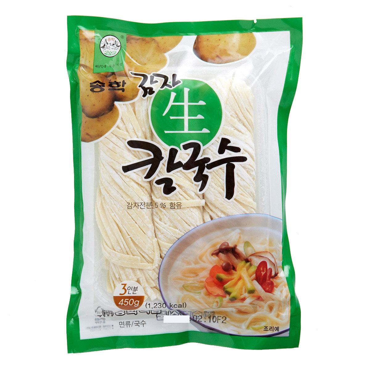 松鶴生薯仔闊條麵