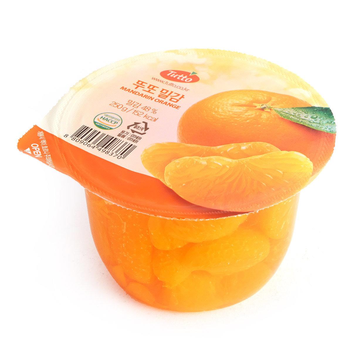 蜜柑果肉啫哩