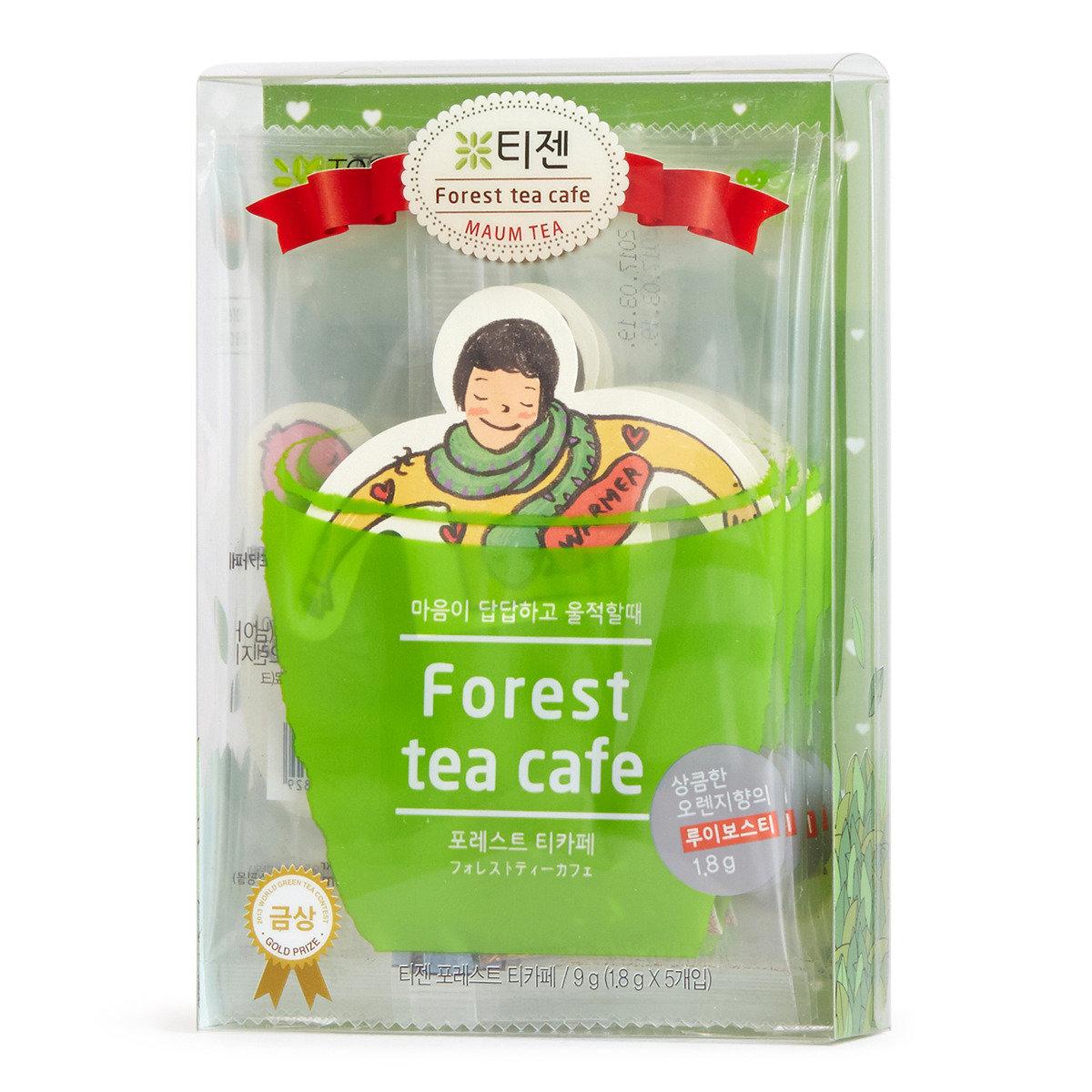 森林茶館系列 (香橙博士茶包)