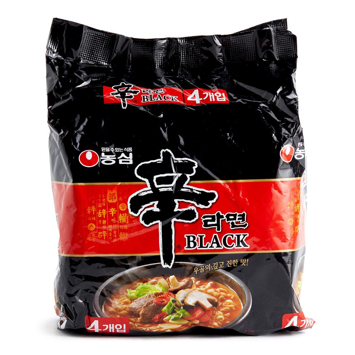 韓國黑版辛辣麵