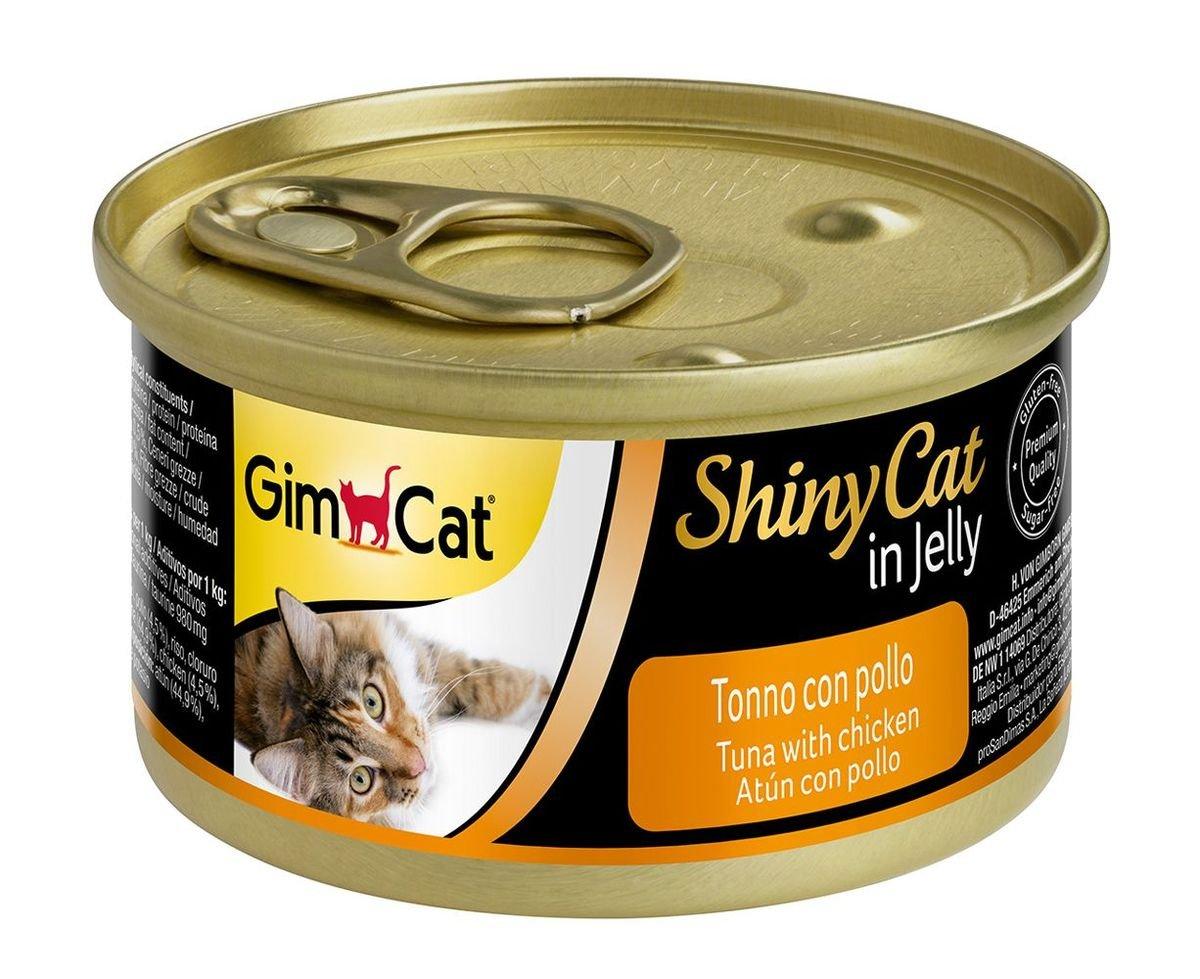 天然吞拿魚雞肉貓罐頭
