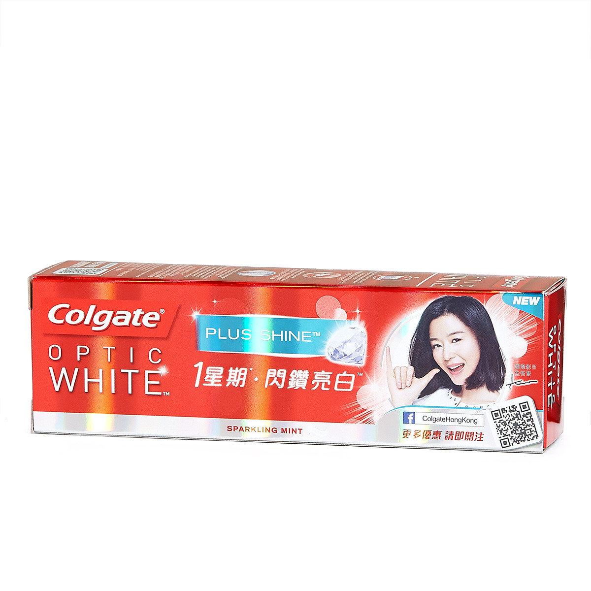 光感白閃鑽亮白牙膏