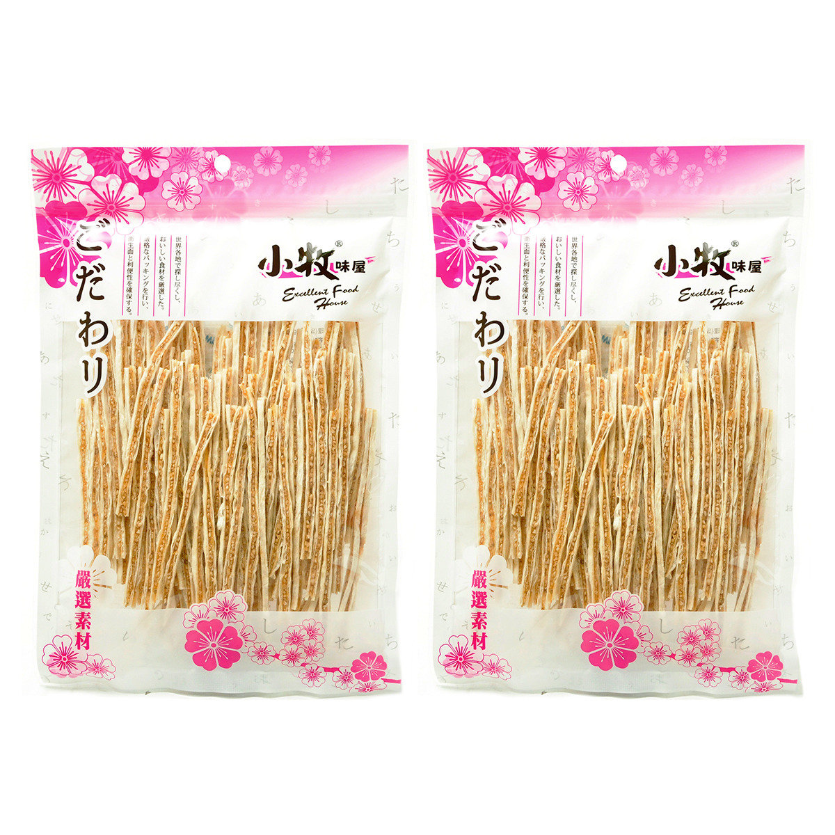 日本白芝麻鱈魚絲