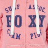 輕薄ROXY字形繡花簡約連帽衛衣外套