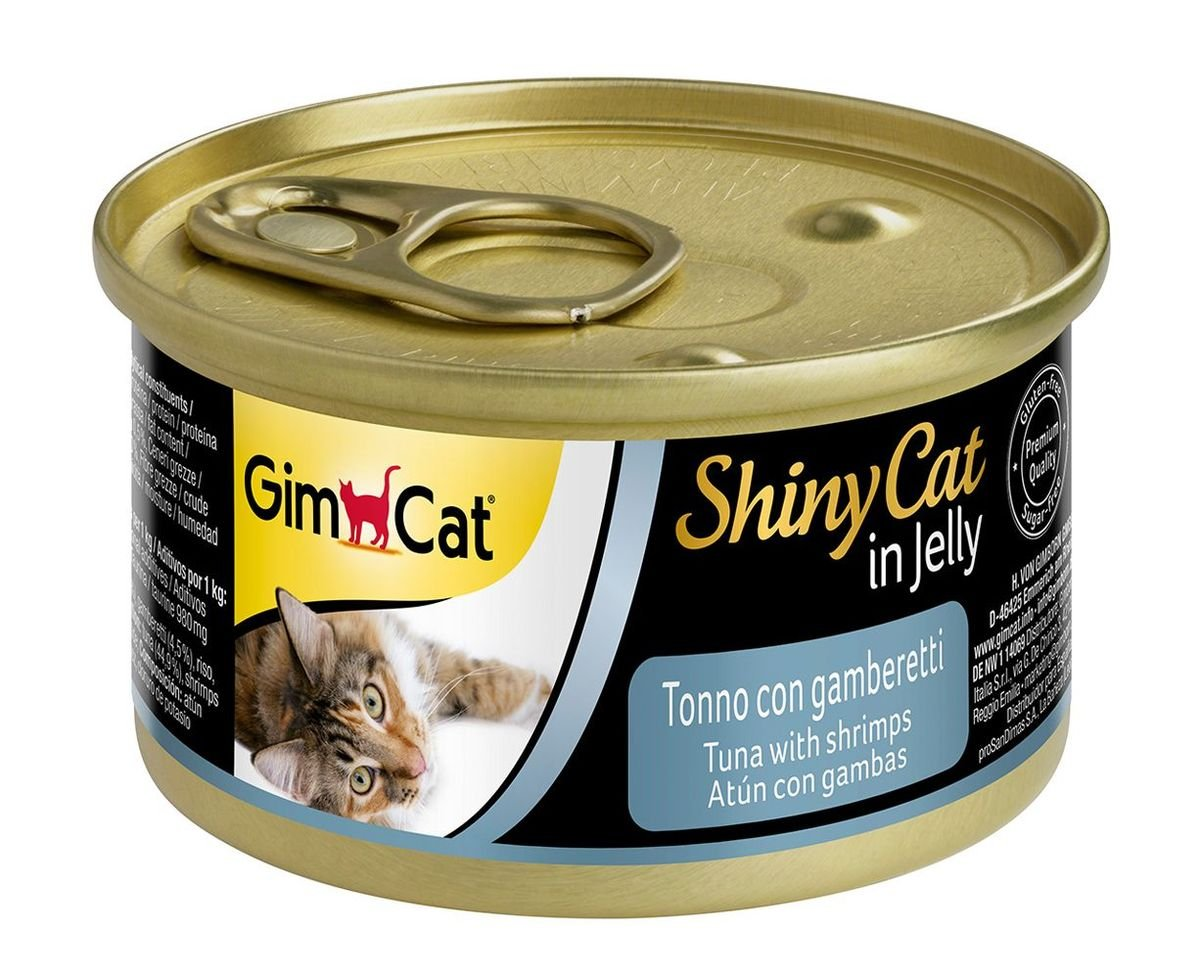 天然吞拿魚蝦肉貓罐頭