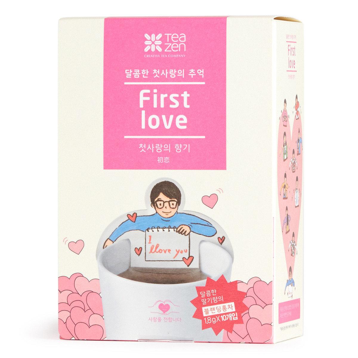 初戀系列 (草莓紅茶包)