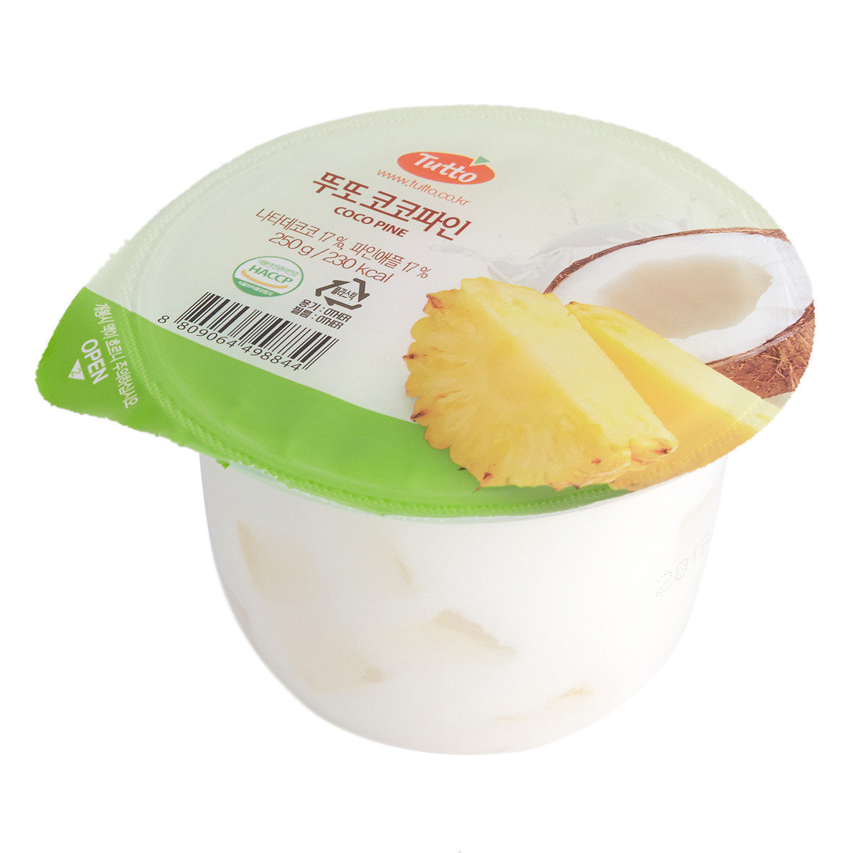 菠蘿椰果乳酪啫哩
