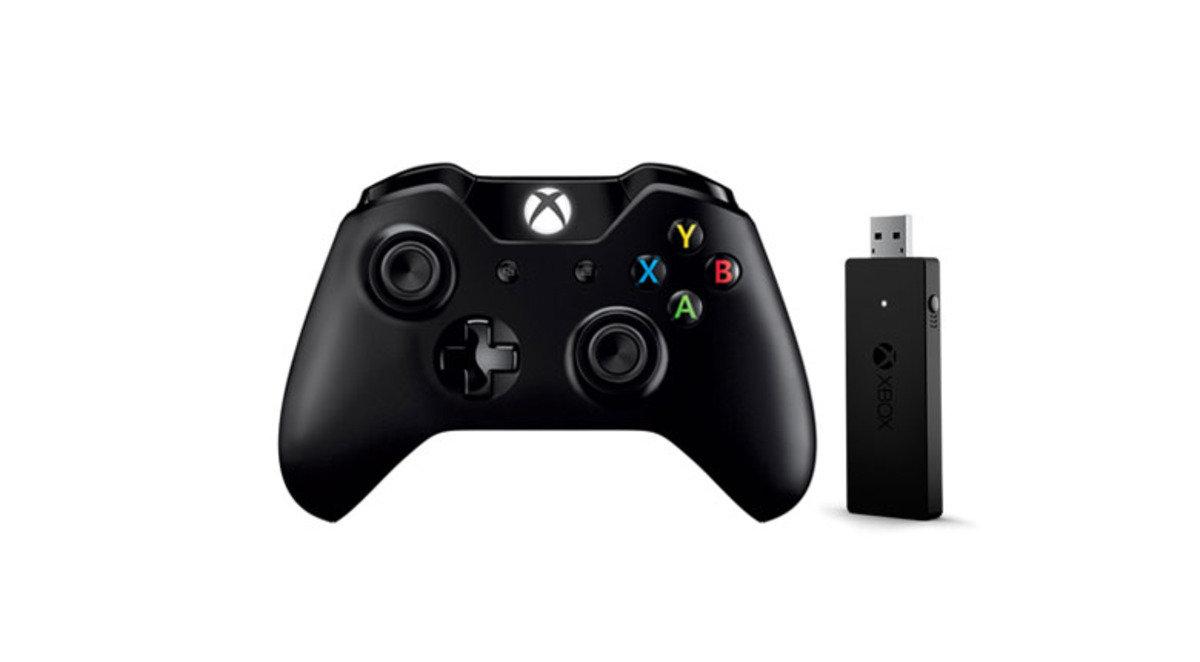 NG6-00005 Windows 專用 Xbox One 控制器 + Windows 10無線顯示卡