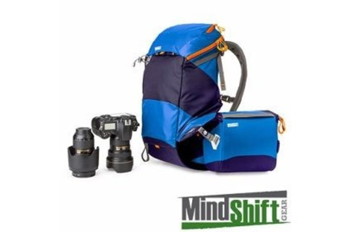 全景攝影袋-水藍